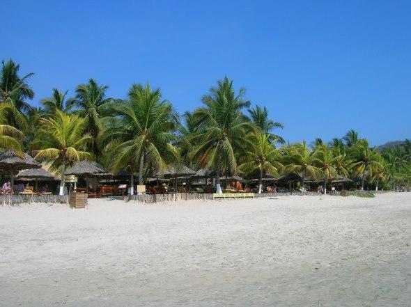 The Beach in Zihuatanejo