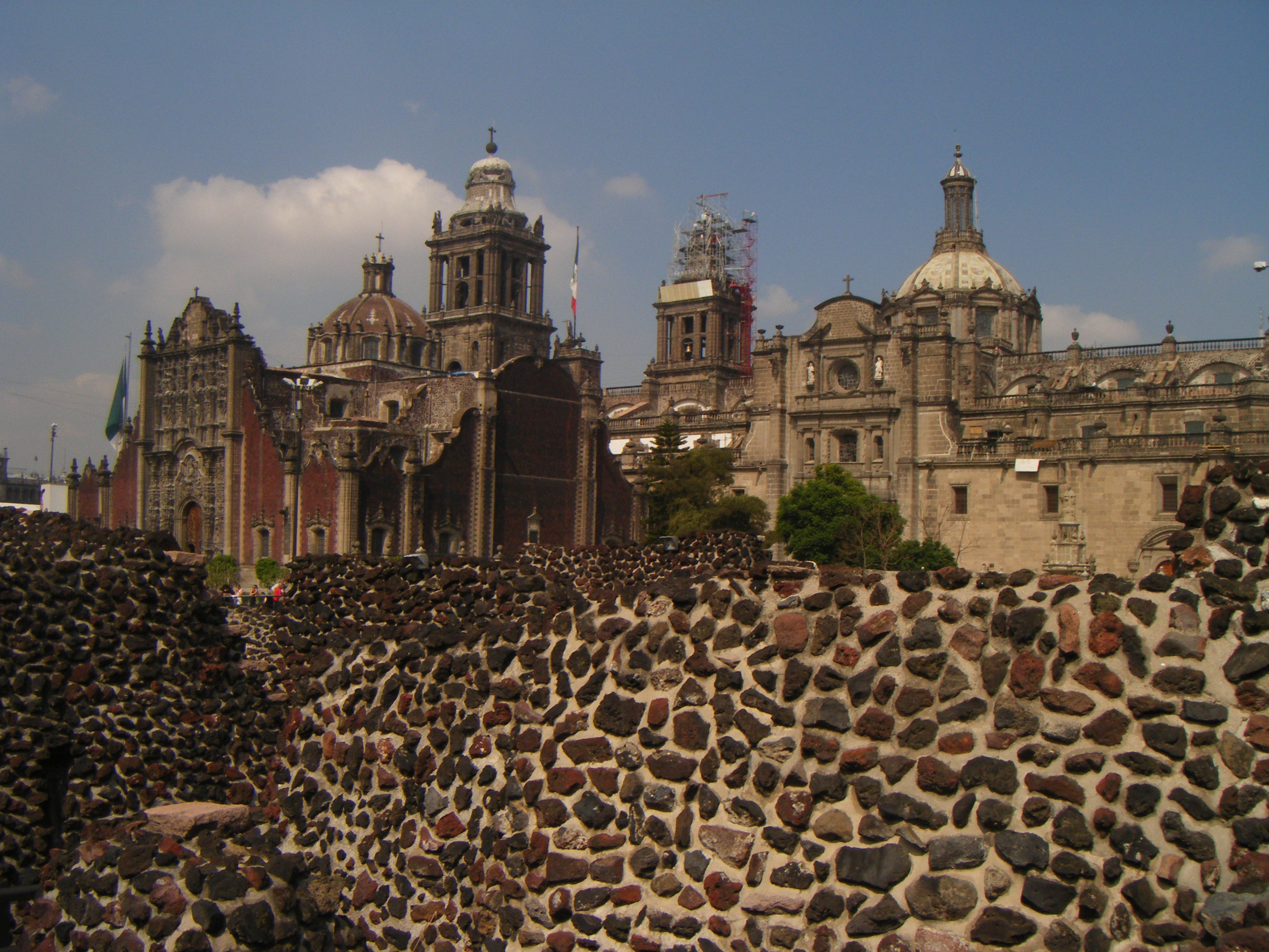 aztec and city Modern-day mexico city sits atop the ruins of this once-great center of the aztec empire.