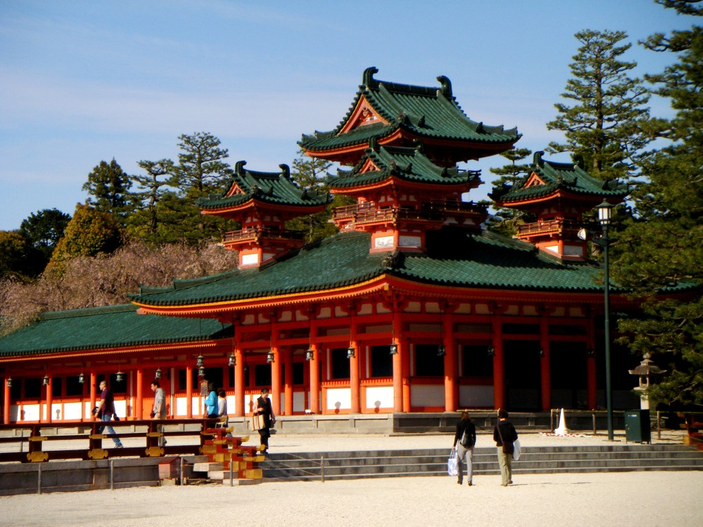 Heian Jingū Shrine Building