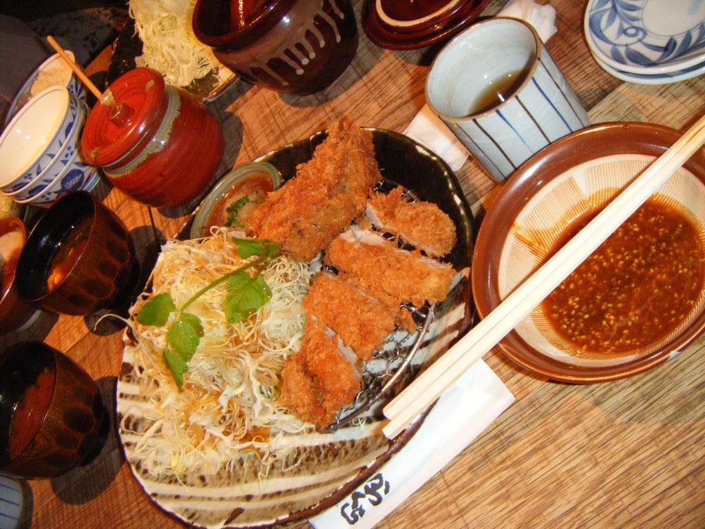 Tonkatsu and Dipping Sauce