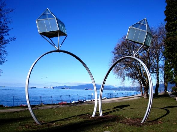 Wedding Rings - Public Art