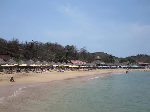 Beach at Ixtapa Island