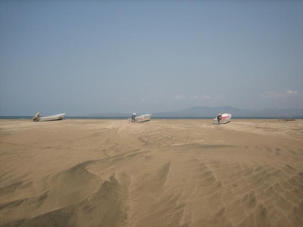 Barra de Potosi Boats