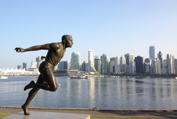 The Runner, Vancouver