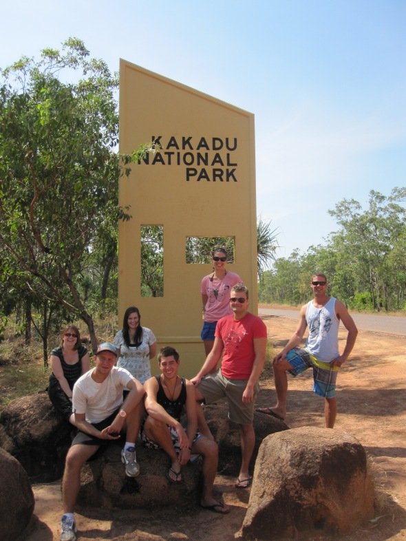Me and My Group, at the Entrance to Kakadu