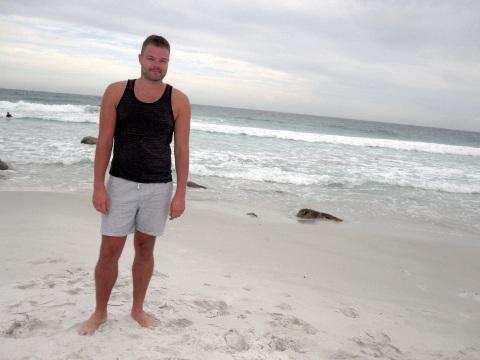 Me at Friendly Beaches, Freycinet National Park