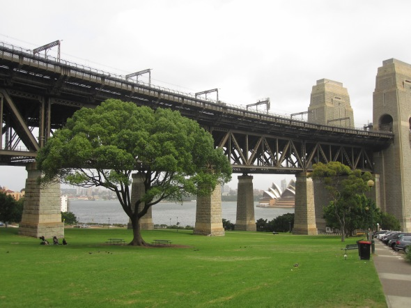 Bradfield Park in North Sydney