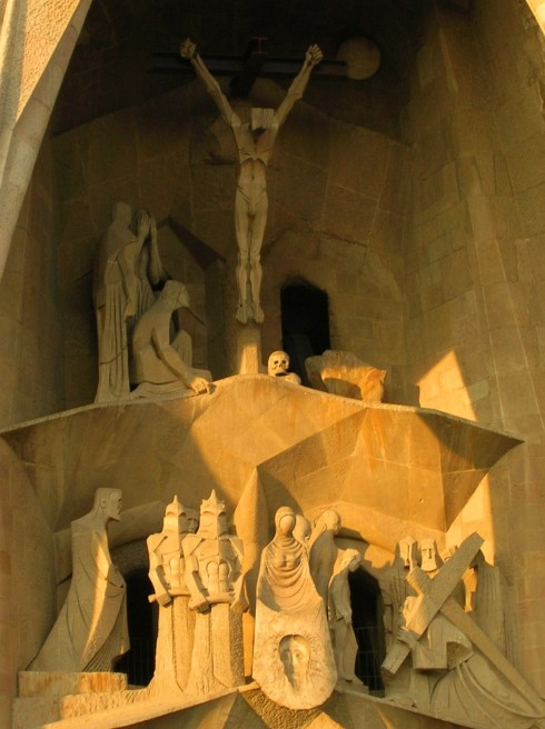 Crucifixion at Sagrada Familia