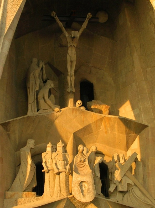 Crucifixion at Sagrada Familia