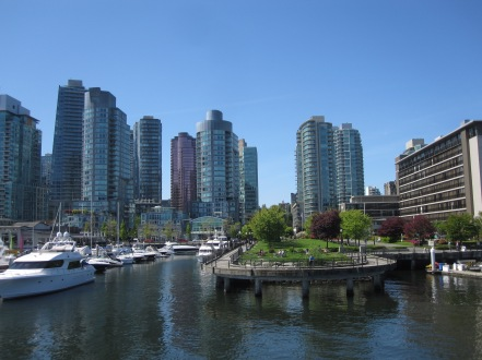 Seawall Along Coal Harbour