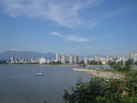 Downtown Vancouver seen from Kitsilano