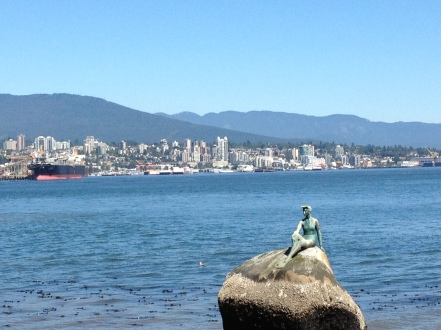 """The Mermaid"" in Stanley Park"
