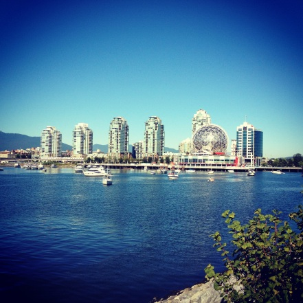 Science World Seen from Across False Creek