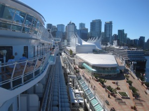 Sapphire Princess at Canada Place Cruise Port