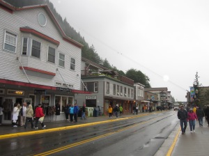 Juneau Street in the Rain