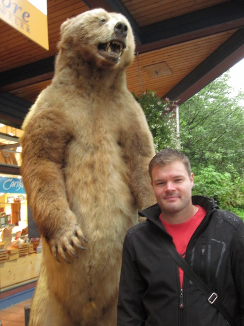 Me and a Grizzly at the Markets