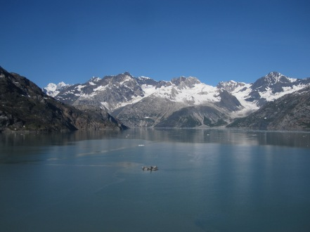 Cruising Glacier Bay