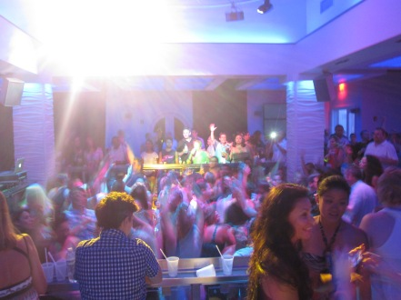 Party at the Nightclub at Beaches Resort Turks & Caicos