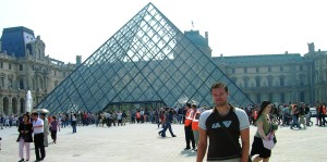 The Louvre Museum, Paris, France, May 2007
