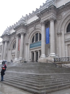 The Facade of 'The Met' along Central Park's 'Museum Mile'