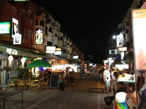 Karon Beach District at Night