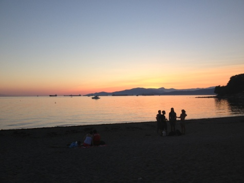 Sunset at English Bay