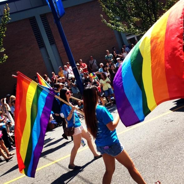 Rainbow Flags Aplenty