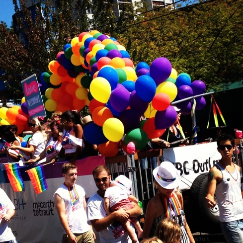 One of the Many Colourful Floats