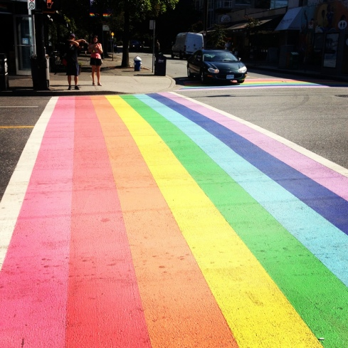 Davie Village Rainbow Crosswalk