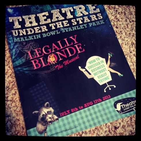 Theatre Under the Stars 2013 Programme