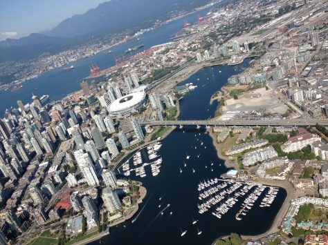 The Very Scenic False Creek