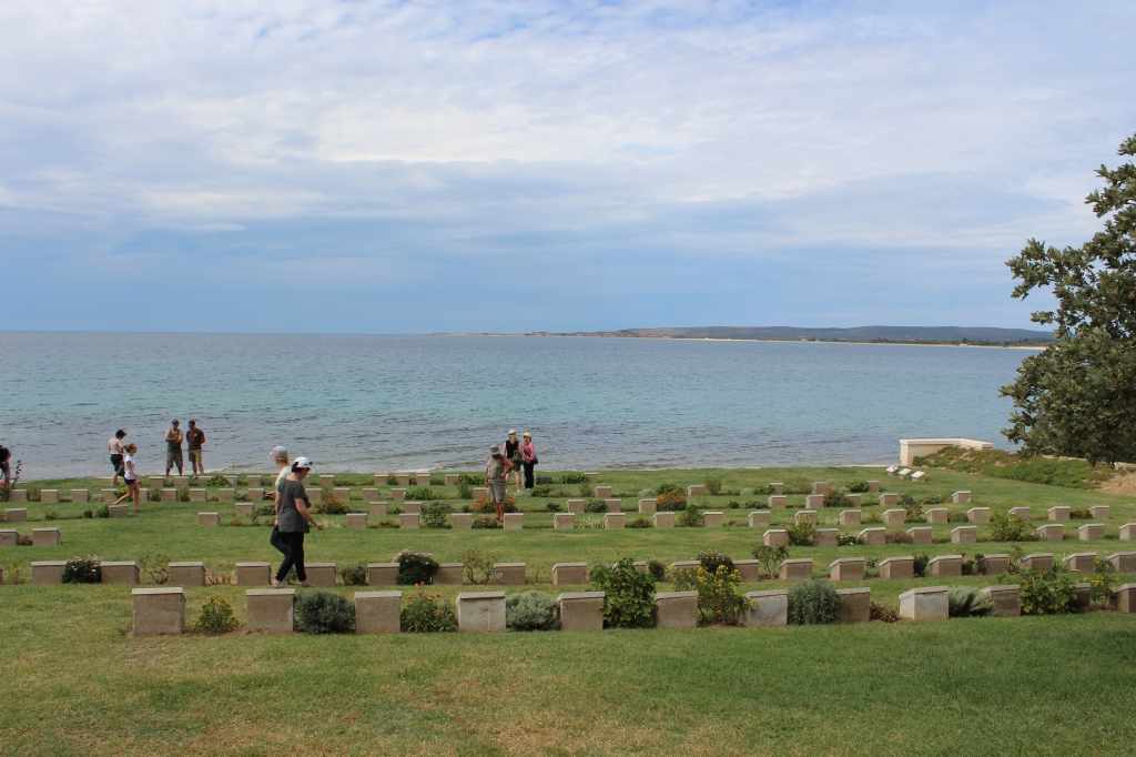 The Cemetery in Gallipoli