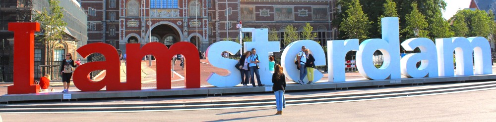 Image result for I amsterdam sign