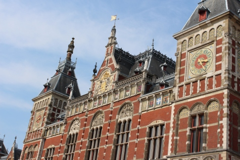 Amsterdam Central Railway Station - The Heart of the City