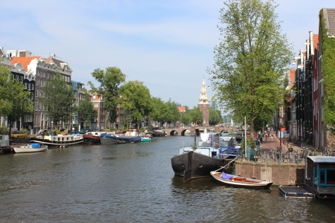 Beautiful Canal in Amsterdam