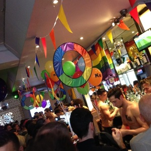 Pride Drinks at Ku Bar