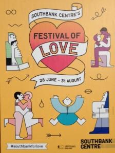 Festival of Love, South Bank, London
