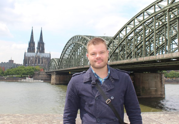 Me in Cologne, May 2014