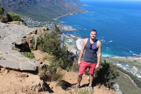 Leaving Footprints All the Way to the Summit of Lion's Head In Cape Town, South Africa!