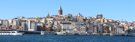 "Beyoğlu District, the ""Modern"" part of the Europe side of Istanbul"