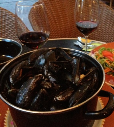 Moules (Frites not pictured!)