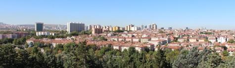 Ankara seen from Anitkabir