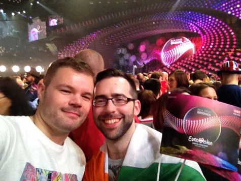Eamonn & Me, Ready for the Eurovision 2015 final!