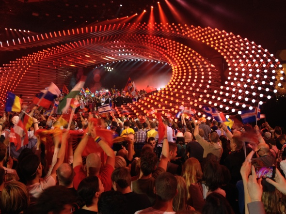 The Stunning Stage at Eurovision 2015