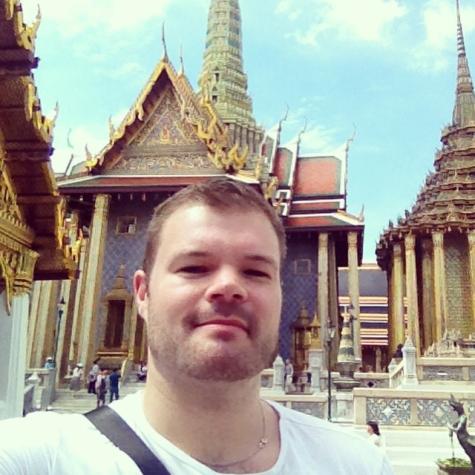 Selfie at the Grand Palace, May 2015