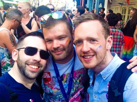 Eamonn, Me & Shane, Pride in London 2015