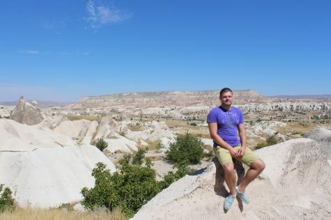 Me in Cappadocia, September 2013
