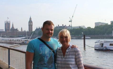 Me & Mom in London, June 2015