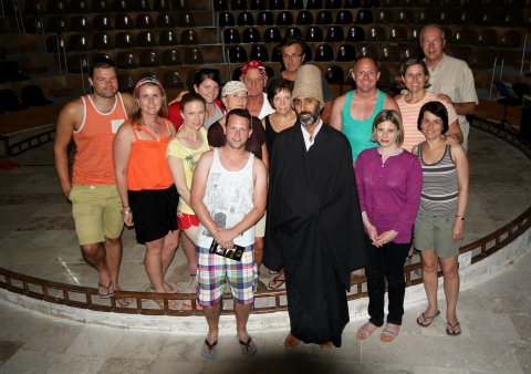 Our Group with the Head Dervish - September 2013