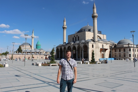 Me by the Selimiye Mosque, Konya